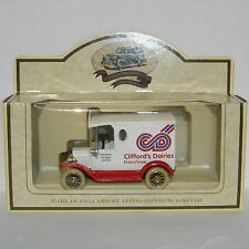 Lledo promocional 1920 Modelo T Ford Van: Clifford's lácteas franquiciado: LP6299A