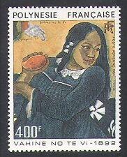 French Polynesia 1984 Paul Gauguin/Art/Painting/Paintings/Woman/Fruit 1v n37087