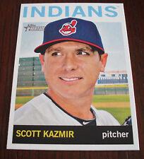 2013 Topps Heritage High Number On line exclusive Scott Kazmir Indians
