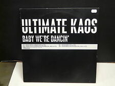"MAXI 12"" Promo ULTIMATE KAOS Baby we're dancin URSDJ1"