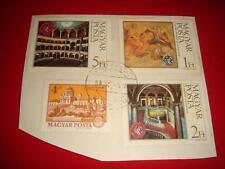 HUNGARY, 1984, 4 Postage Stamps on paper, F/U