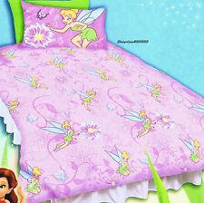 Disney Fairies Tinkerbell purple - Single/USTwin Bed Quilt Doona Duvet Cover Set