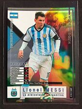 2013-14 Panini WCCF Argentina Superstars Lionel Messi refractor card Rare