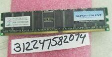 1GB PC DDR DDR1 PC2100R DDR-266 184PIN DUAL RANK 2RX8 64X8 RDIMM ECC REGISTER