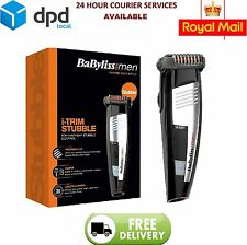 BaByliss 7847U i-Trim Mens Stubble Beard Hair Trimmer Cordless Rechargeable New