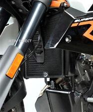 R&G RACING BLACK ALUMINIUM RADIATOR GUARD KTM 990SMT (2008- onwards)