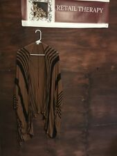 Cotton On Wrap Style Cardigan Brown And Black S