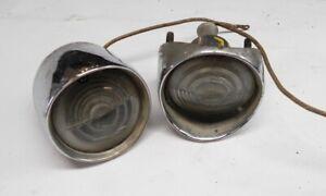1955 CHRYSLER BACKUP/REVERSE LIGHTS PAIR MOPAR# CH-RBY