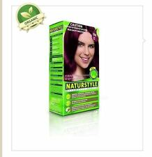 2 x NATURSTYLE Permanent Hair Colourant / Colour - FIRE RED 9R