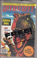 1993 OVERSTREET Comic Book #3 - JURASSIC PARK  w/ 1970 Overstreet #1 Reprint
