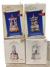 Hallmark Ornaments Collectors Series Treasures and Dreams (lot of 4)