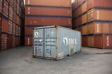 Used 20 Dry Van Steel Storage Container Shipping Cargo Conex Seabox Louisville