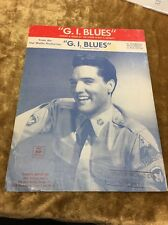 "ELVIS PRESLEY ""G.I.BLUES ""SHEET MUSIC 1960"