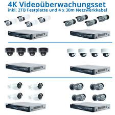 SET 8 MEGAPIXEL PROFESSIONELLE NETZWERK VIDEOÜBERWACHUNG ANDROID iPHONE INTERNET