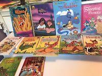 Lot of 11 Walt Disney Books Pete's Dragon Bambi Snow White Pooh