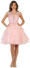 SHORT HOMECOMING SEMI FORMAL SWEET 16 COCKTAIL PROM BIRTHDAY PARTY GRAD DRESSES