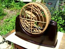 1949 Fresh-IN-AIR Deluxe Bakelite 11 inch Desk Fan