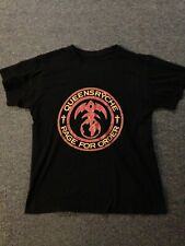Queensryche Rage For Order T-Shirt Size Large 2 Sided Used No Tags metallica Usa