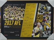 RICHMOND TIGERS 2017 AFL PREMIERS SIGNED PRINT FRAMED - MARTIN, COTCHIN