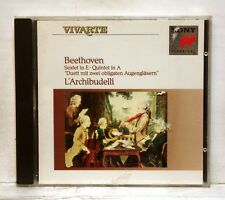 L'ARCHIBUDELLI - BEETHOVEN sextet in E, quintet in A, Duett SONY CD NM