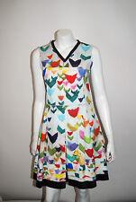 JIL SANDER NAVY MADE IN ITALY  $1320 MULTICOLOR SHEATH DRESS SIZE 38    13