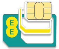 EE COMBI MICRO & STANDARD SIM CARD PAY AS YOU GO - 4G SIM 5GB DATA 500 MINS 4GEE