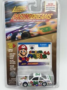 JOHNNY LIGHTNING RACING DREAMS GAMES SUPER MARIO 64 1/64 Scale FREE SHIPPING