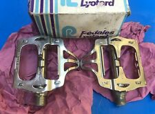 "NEW OLD STOCK VINTAGE BOXED LYOTARD BERTHET PEDALS,9/16"" BRITISH THREAD"