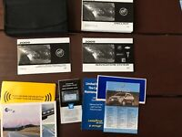 2009 Buick Enclave Owners Manual With Case And Navigation OEM Free Shipping