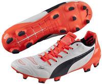 Puma evoPower 1.2 Firm Ground Mens Football Boots - White