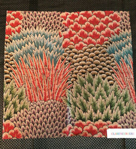 """CLARENCE HOUSE Pienza 17 1/4 x 17 1/4""""  Fabric Sample"""