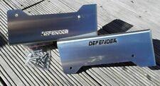 Stainless DEFENDER Steel Seat Box Corner Carpet Mat Protector Kit Land Rover 90