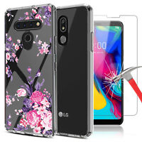 For LG Stylo 6 / 5 / 5+ Shockproof Crystal Clear Case Cover / Screen Protector