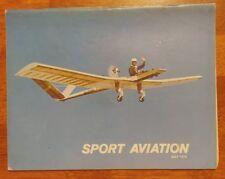 Sport Aviation Magazine May 1976 EAA The Birdman debut sportsplane builders