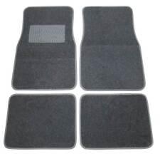 4x tessuto TAPPETINI moquettati PER AUTO ant. + POSTERIORE NERO/GRIGIO diverse