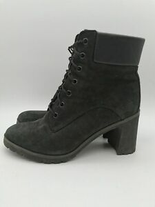 Women's Timberland Allington 6 Inch Lace Up Leather Ankle Boots Size UK6 EU39