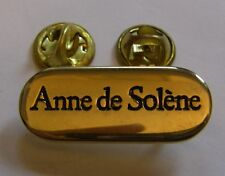Pins ANNE DE SOLENE (double attaches)
