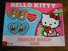 2012 Cardinal Sanrio HELLO KITTY Memory Match Game for 2-4 Players Ages 3+