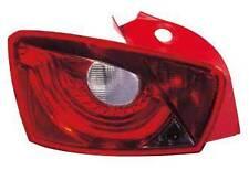 SEAT IBIZA MK5 7/2008-> REAR TAIL LIGHT PASSENGER SIDE N/S
