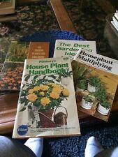 Vintage Gardening Books (4)