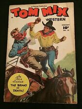 TOM MIX #14 VG- Condition