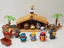 Fisher Price Little People Nativity Scene Holiday Christmas Set