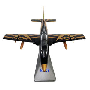 1:72 Scale Alloy Die Cast Italian MB-339 Aircraft Model Toys with Stand