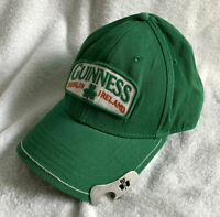 Guinness Dublin Ireland Beer Bottle Opener Brim Baseball Hat Mens Green
