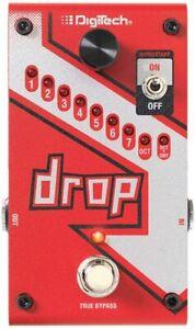 NEW Digitech DROP Compact Polyphonic DropTune Pitch Shifter Guitar Pedal