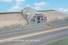 Z Scale Building - Quonset Hut **Pre-Cut** CARD STOCK (PAPER) Pre-Cut Kit #QH1Z