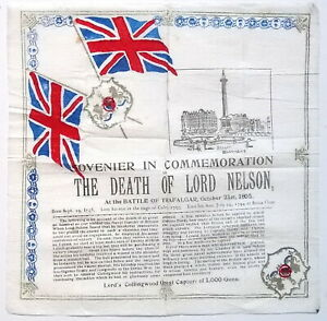 Sovenier [so worded] in Commemoration of the Death of Lord Nelson