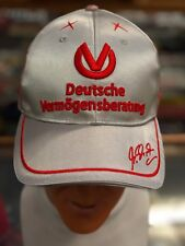 MICHAEL SCHUMACHER DVAG CAP FROM 2011 EMBROIDERED