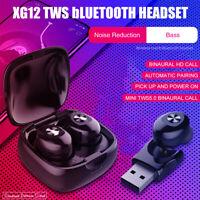 bluetooth 5.0 TWS Wireless Twins 5D Stereo Earbuds Earphones Headphones Headset