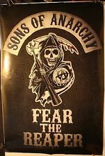 "2014 SOA Sons of Anarchy Fear The Reaper 24 x 36"" Poster TV Show FX PP33429"
